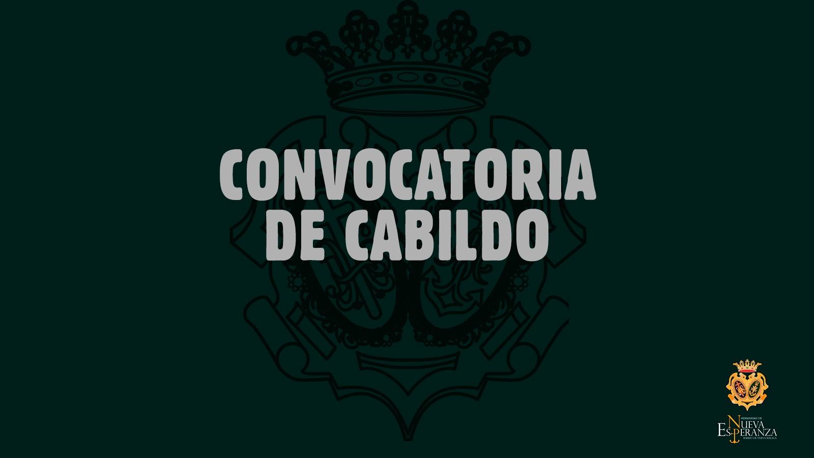 Convocatoria al Cabildo de Cuentas del año 2020, Cabildo Ordinario y Cabildo Extraordinario 22 marzo